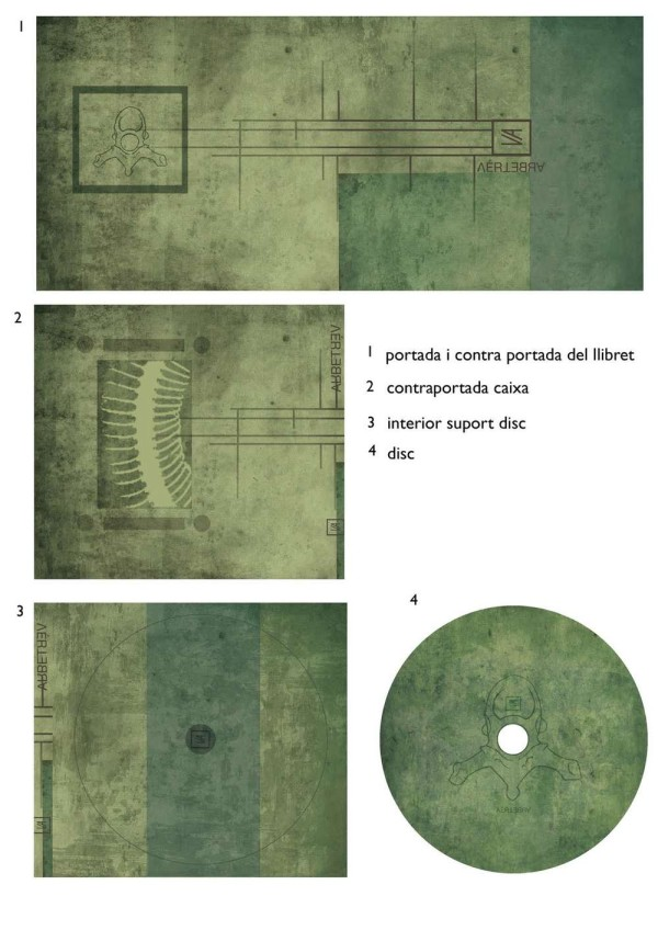 CD cover and disc design