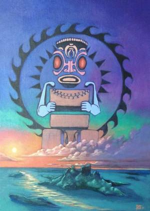 Otro Dios de la Polinesia