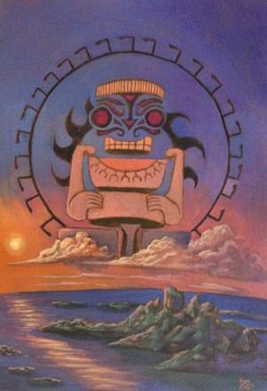 Dios del Océano Pacífico
