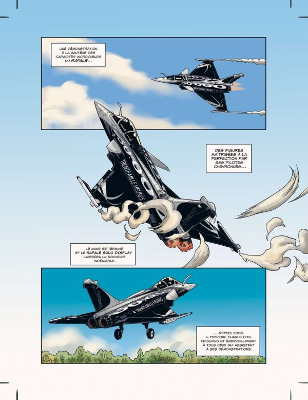 Comic sobre pilotos