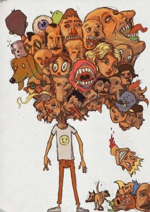 Demasiados cabezas