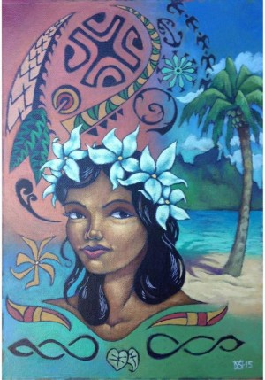 Girl from Tahiti