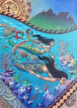 Polynesian Mermaids