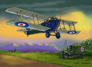 SOPWITH DOLPHIN with colour