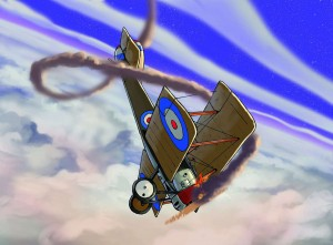 SOPWITH PUP with colour