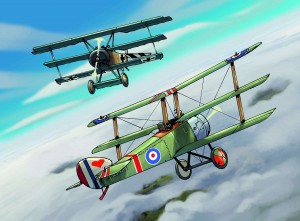 SOPWITH TRIPLAN with colour