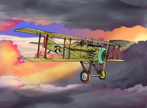 SPAD 7 with colour